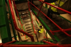 Fullers branded stairs